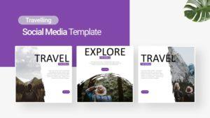 World Travelling Social Media Template