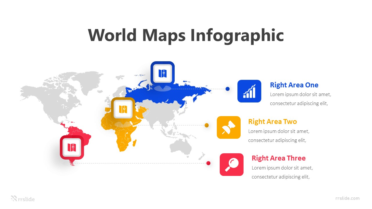 Free World Map Infographic 2 Infographic Template