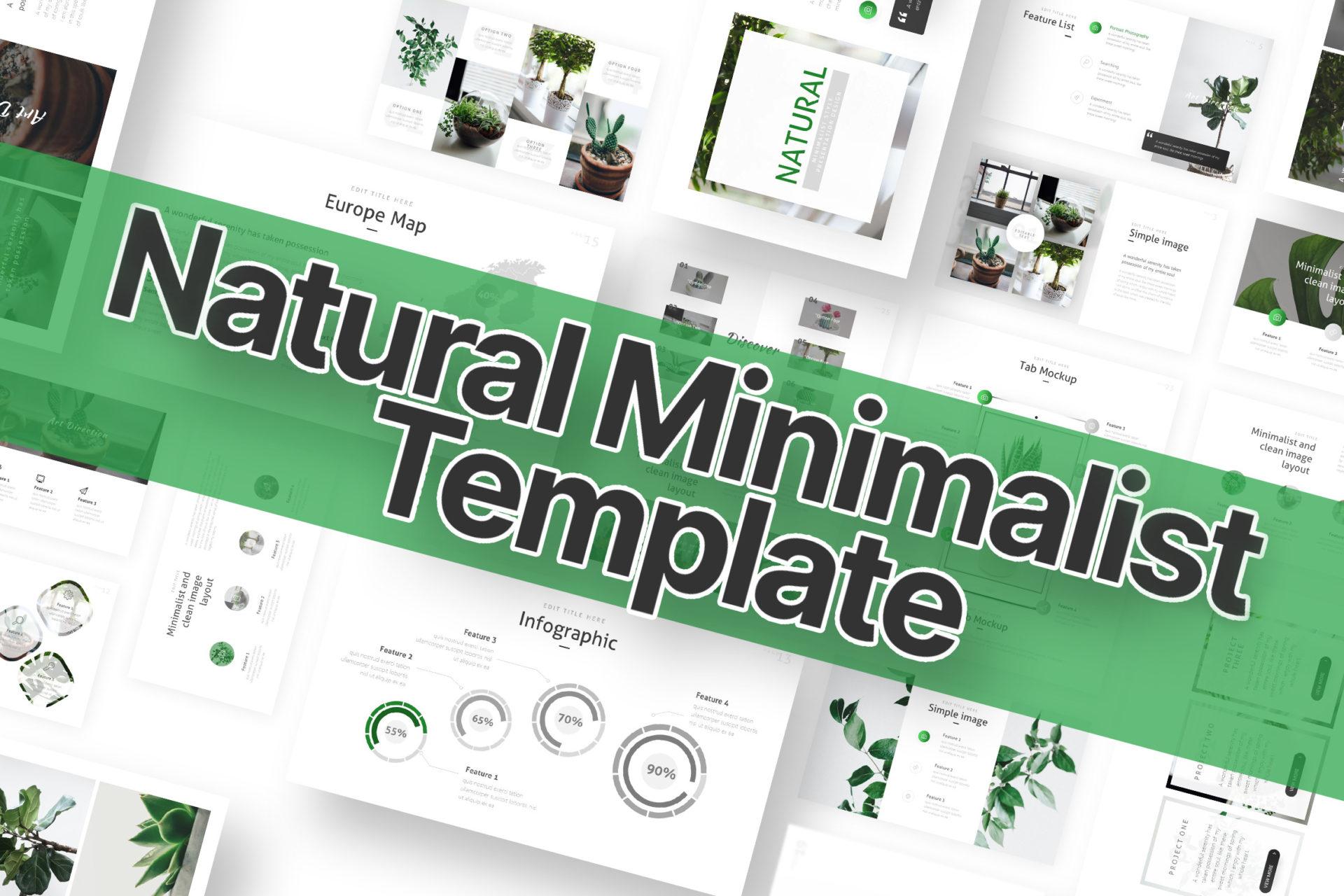 150+ Minimalist Bundle PowerPoint Template