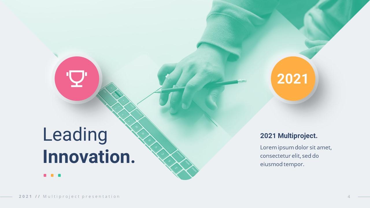 2021 Neumorphic Premium PowerPoint Template