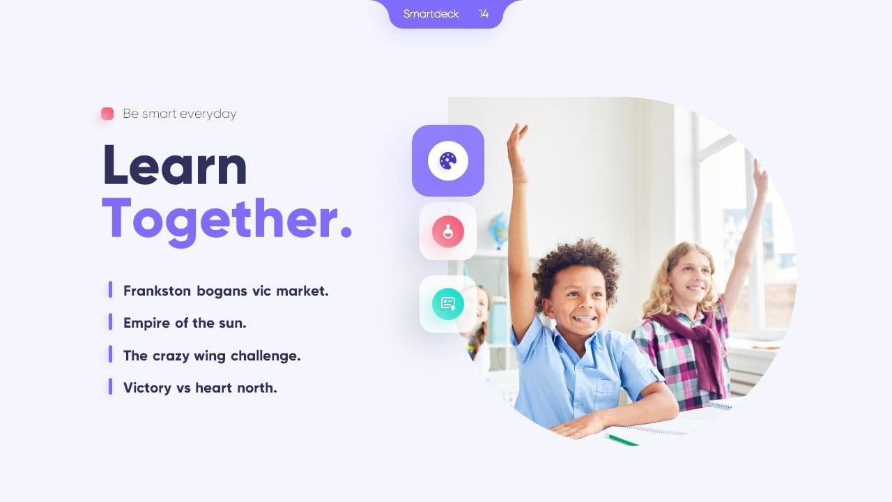 Smartdeck Education PowerPoint Template