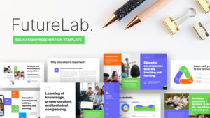 Future Lab Education PowerPoint Template