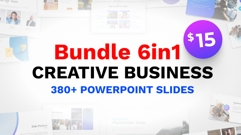 Bundle 6in1 Business PowerPoint Template