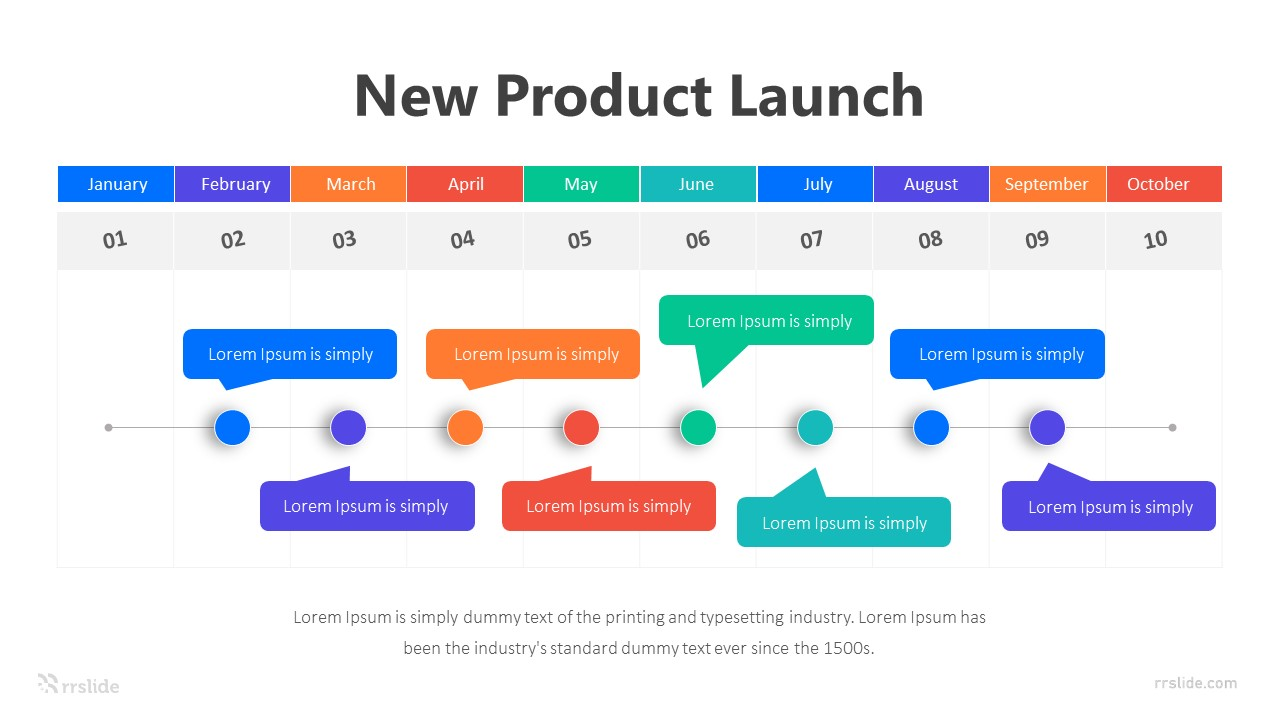 10 New Product Launch Infographic Template