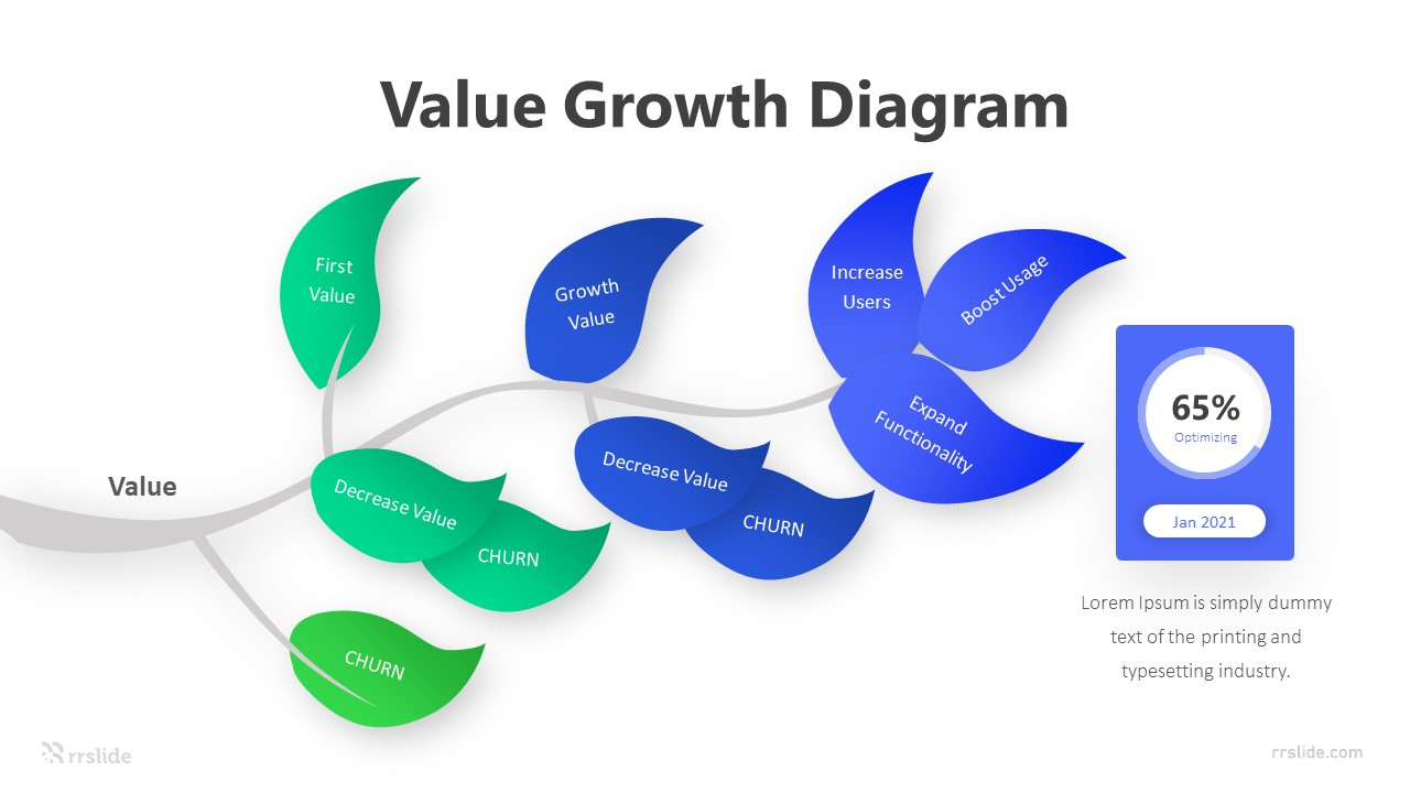 10 Value Growth Diagram Infographic Template