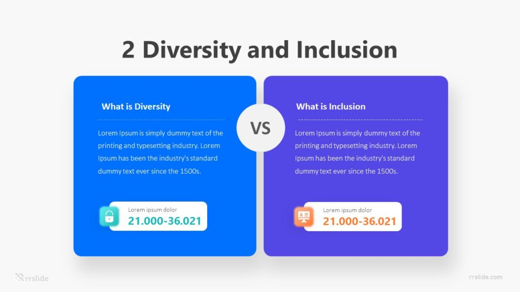 2 Diversity Inclusion Infographic Template
