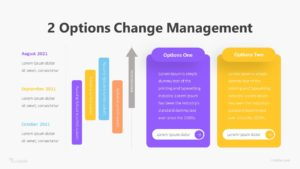 2 Options Change Management Infographic Template