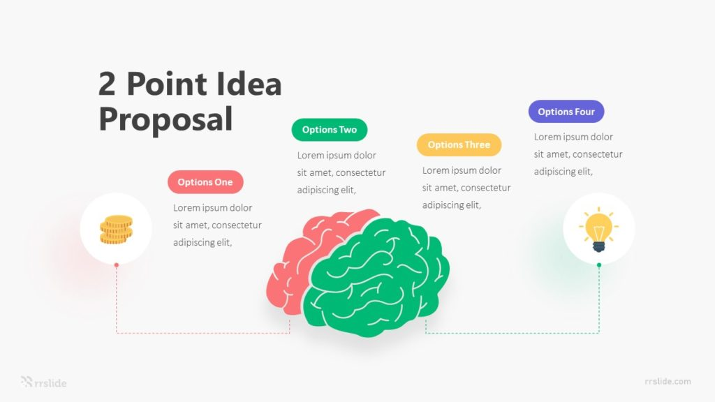 2 Point Idea Proposal Infographic Template