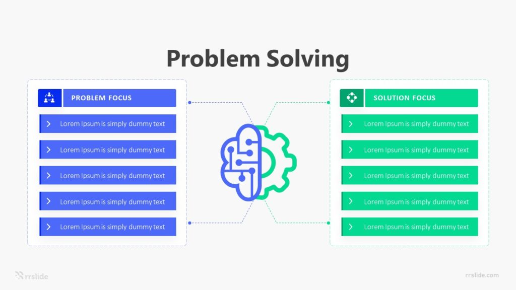 2 Problem Solving Infographic Template