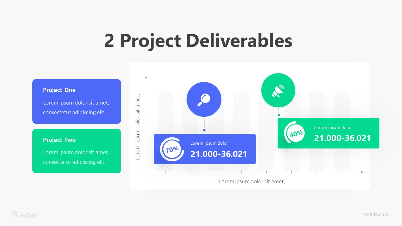 2 Project Deliverables Infographic Template
