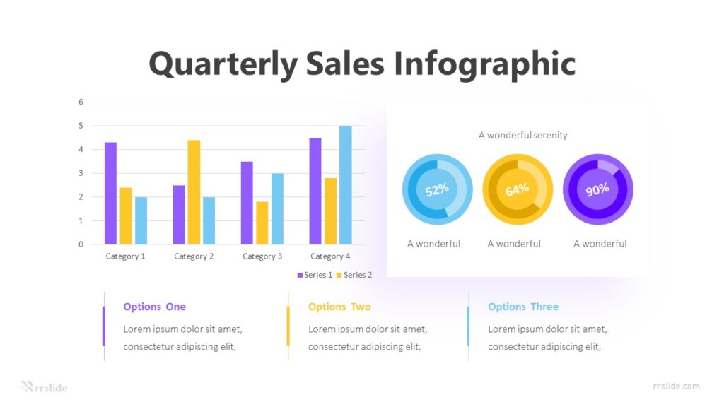 2 Quarterly Sales Infographic Template