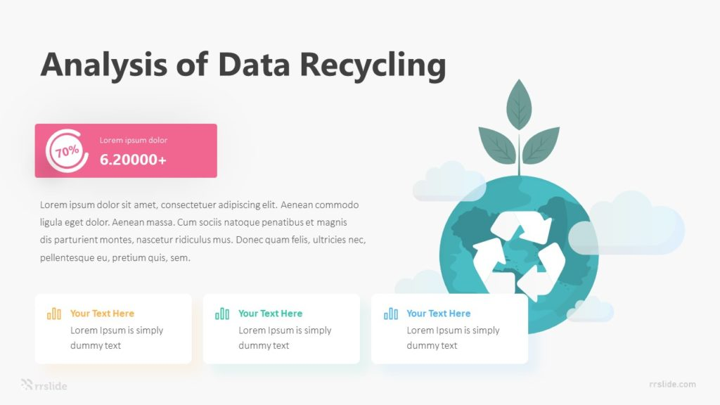 3 Analysis Of Data Recycling Infographic Template