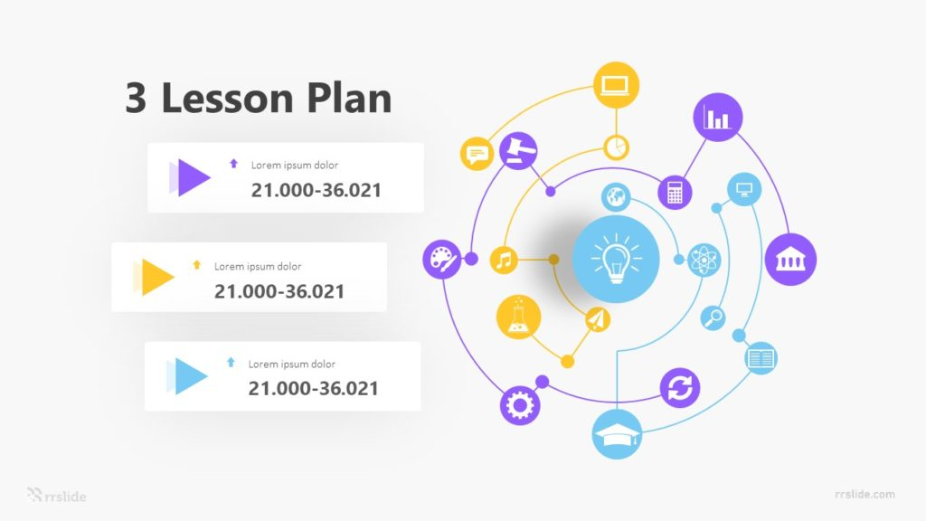 3 Lesson Plan Infographic Template
