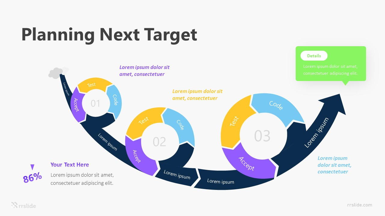 3 Planning Next Target Infographic Template