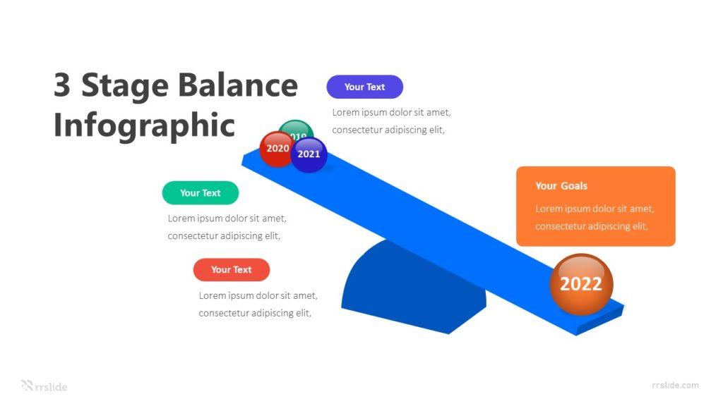 3 Stage Balance Infographic Template