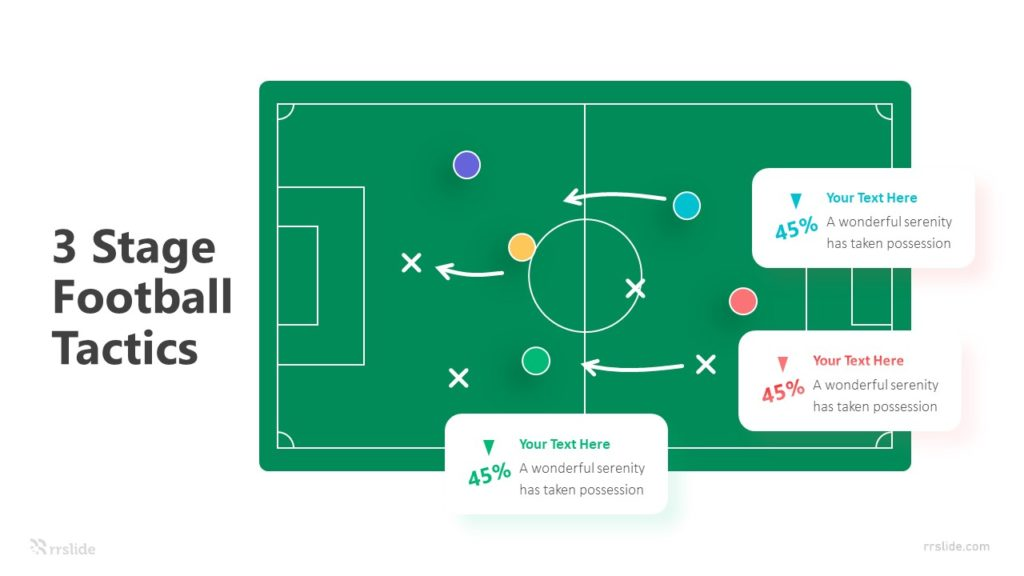3 Stage Football Tactics Infographic Template