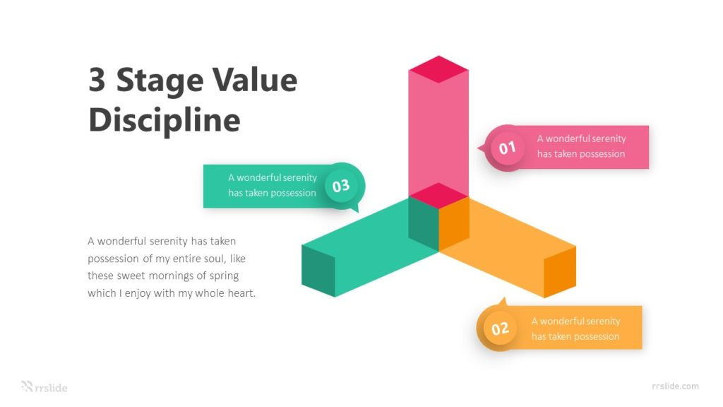 3 Stage Value Discipline Infographic Template