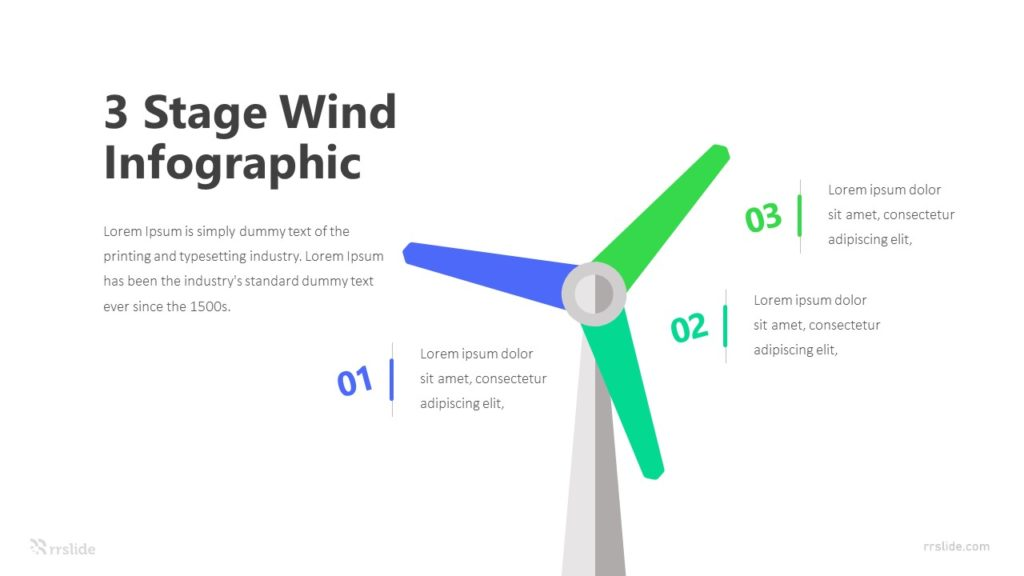 3 Wind Infographic Template