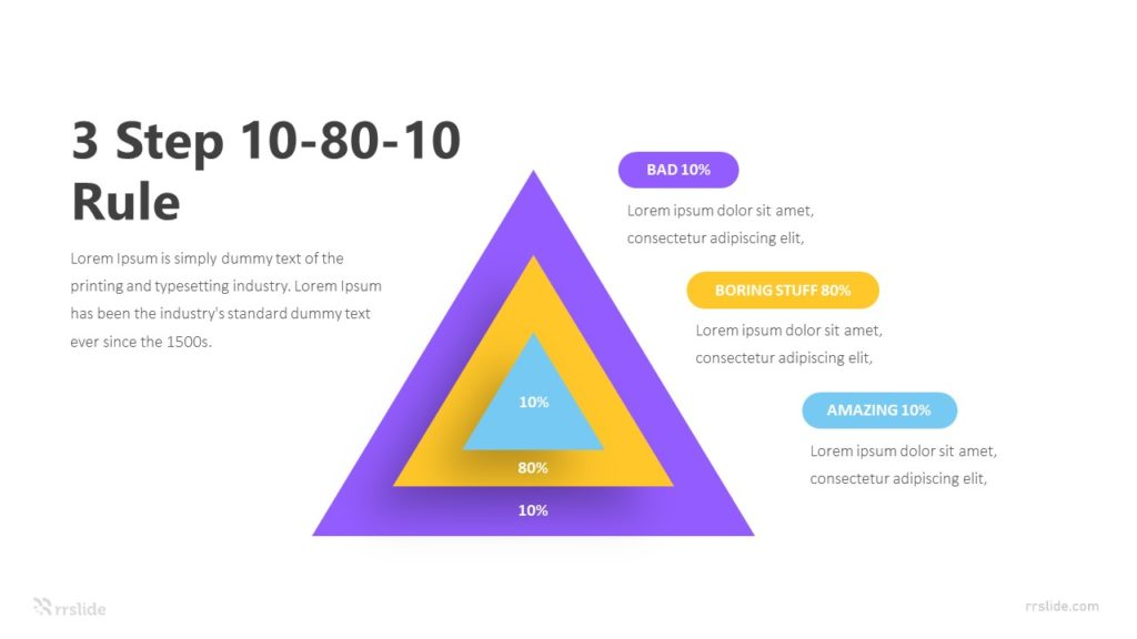 3 Step 10 80 10 Rule Infographic Template
