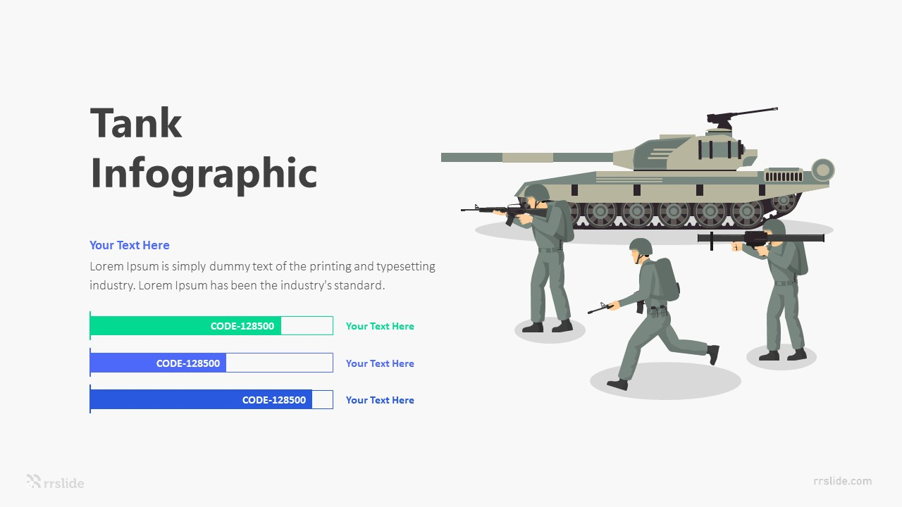 3 Tank Infographic Template