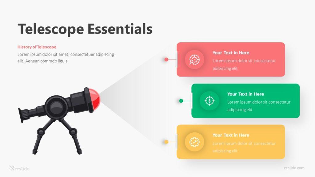 3 Telescope Essentials Infographic Template