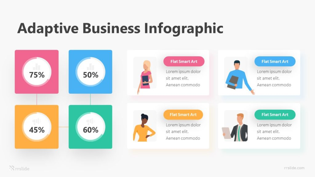 4 Adaptive Business Infographic Template