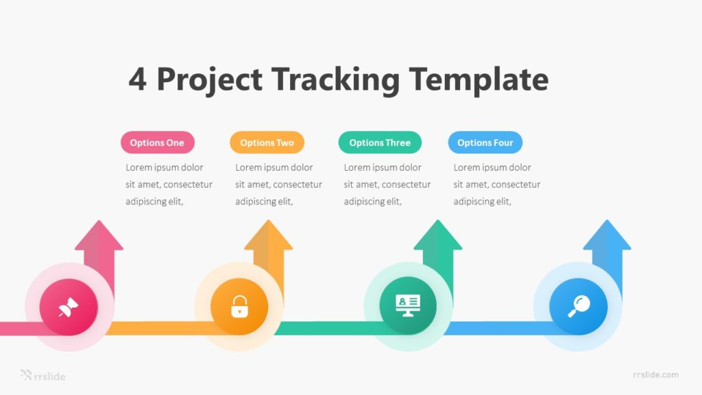 4 Project Tracking Template Infographic Template
