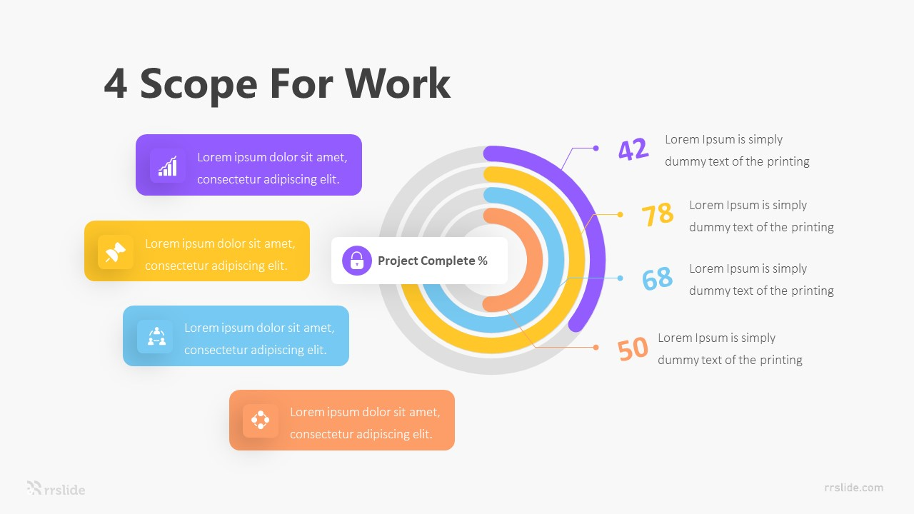 4 Scope For Work Infographic Template