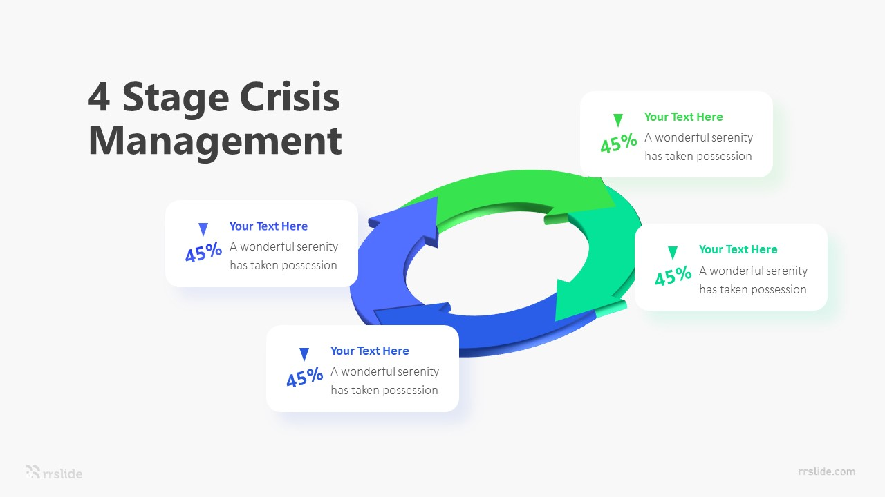 2 Stage Crisis Management Infographic Template