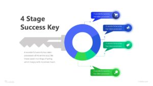 4 Stage Success Key Infographic Template