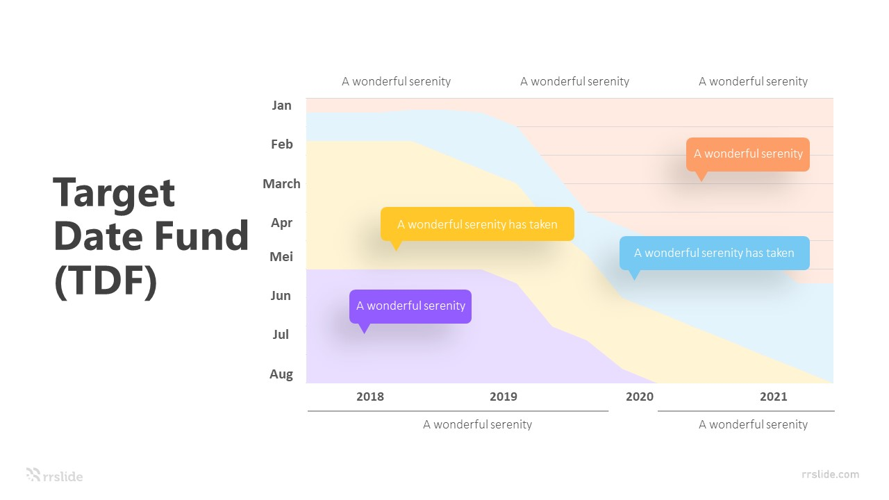 4 Target Date Fund (TDF) Infographic Template