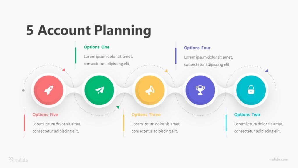 5 Account Planning Infographic Template