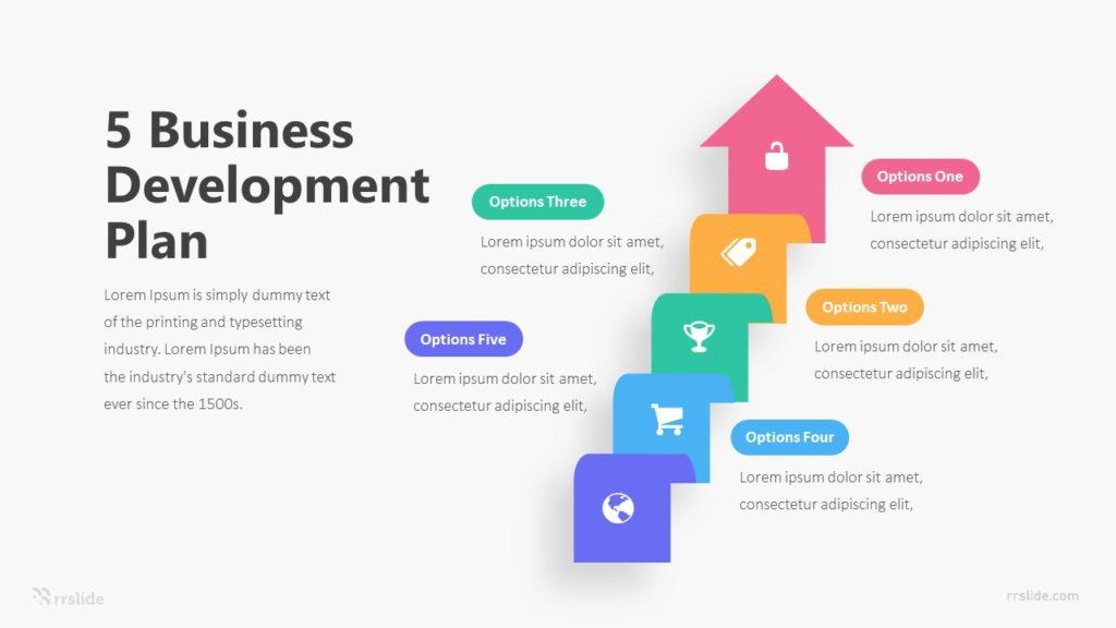 5 Business Development Plan Infographic Template