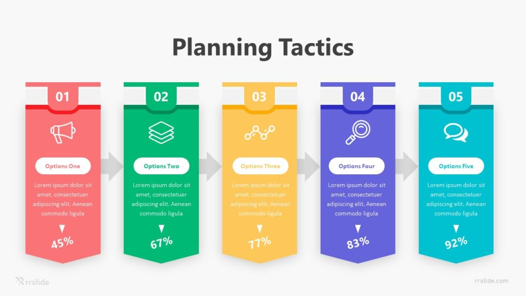 5 Planning Tactics Infographic Template