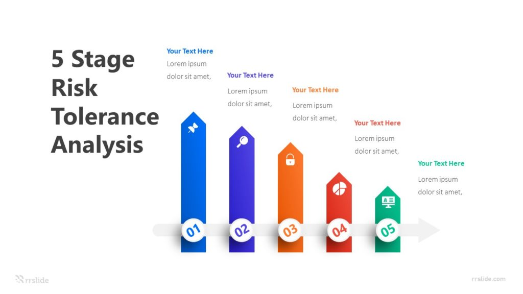 5 Stage Risk Tolerance Analysis Infographic Template