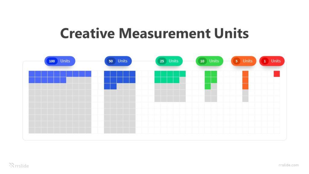6 Creative Measurement Units Infographic Template