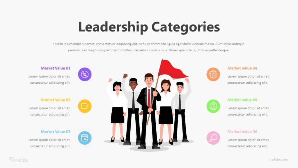 6 Leadership Categories Infographic Template