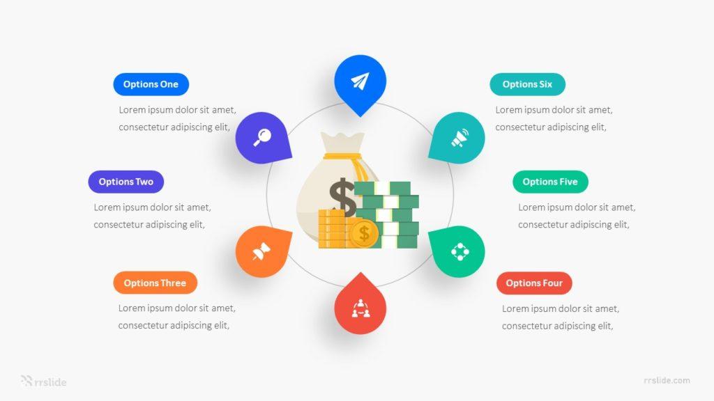 6 Options Revenue Model Infographic Template