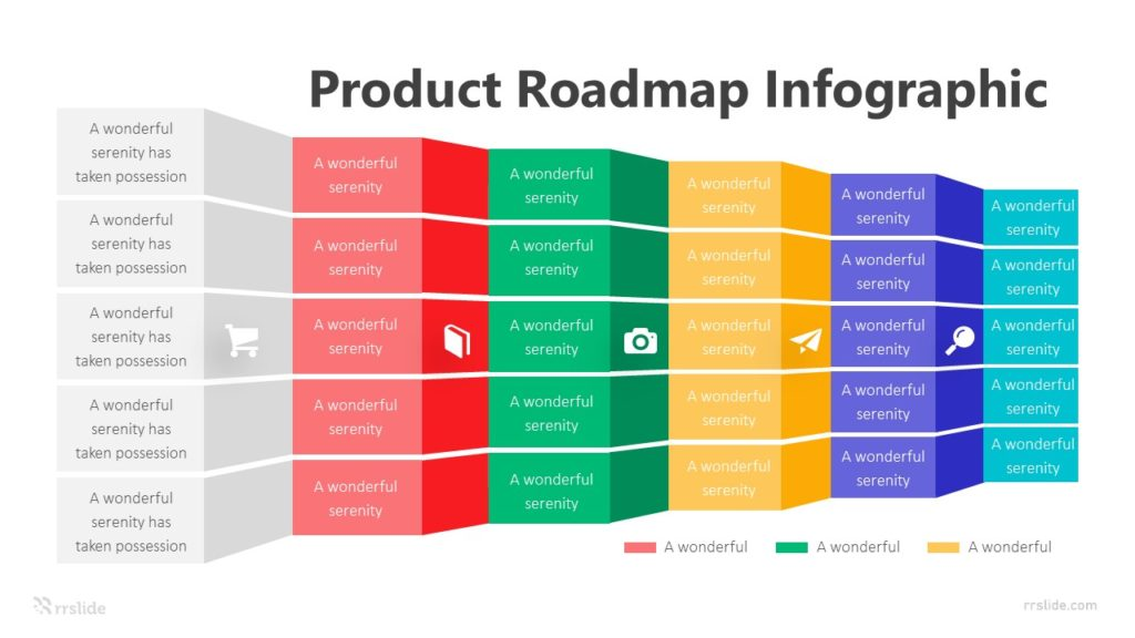 6 Product Roadmap Infographic Template