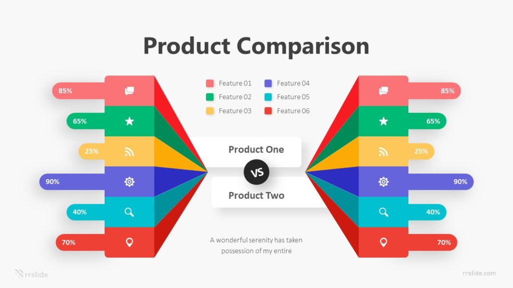 6 Product Comparison Infographic Template