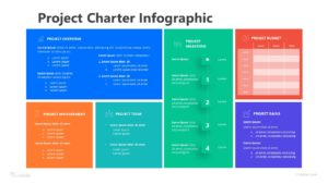 6 Step Project Charter Infographic Template