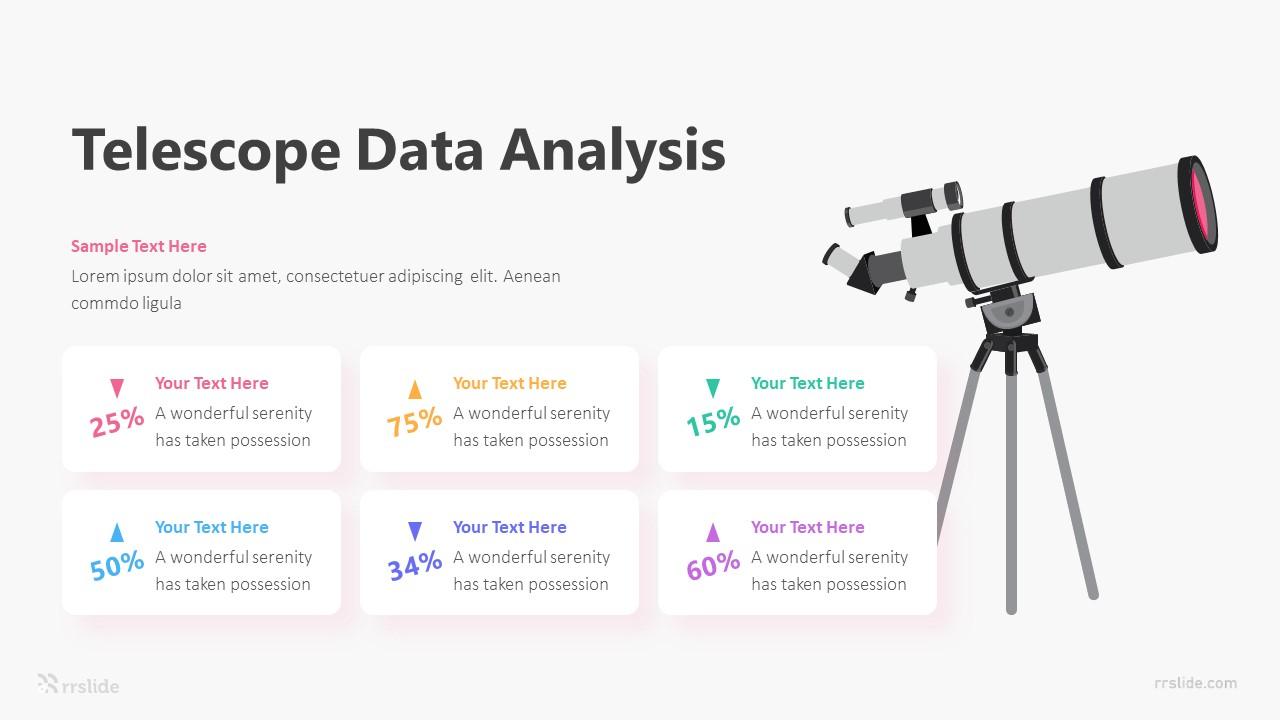 6 Telescope Data Analysis Infographic Template