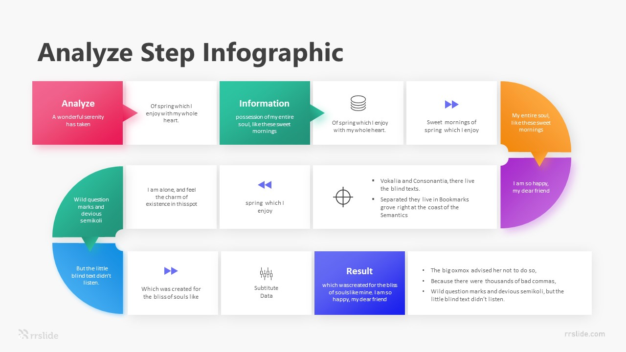 7 Analyze Step Infographic Template