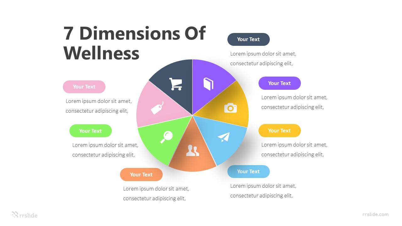 7 Dimensions Of Wellness Infographic Template