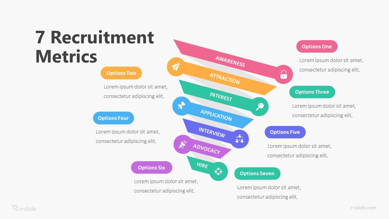 7 Recruitment Metrics Infographic Template