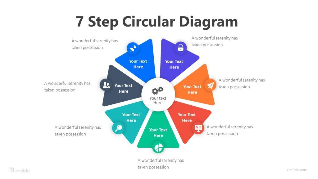 7 Step Circular Diagram Infographic Template