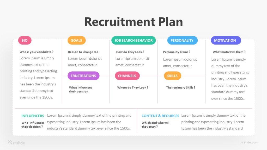 8 Recruitment Plan Infographic Template