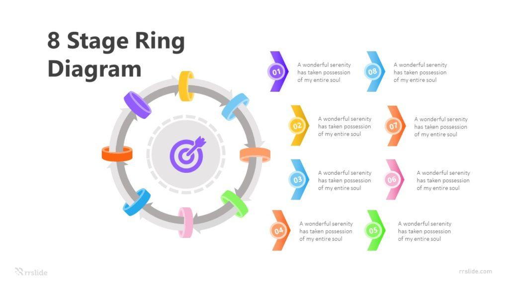 8 Stage Ring Diagram Infographic Template