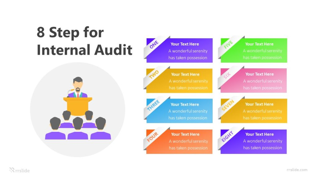 8 Step for Internal Audit Infographic Template