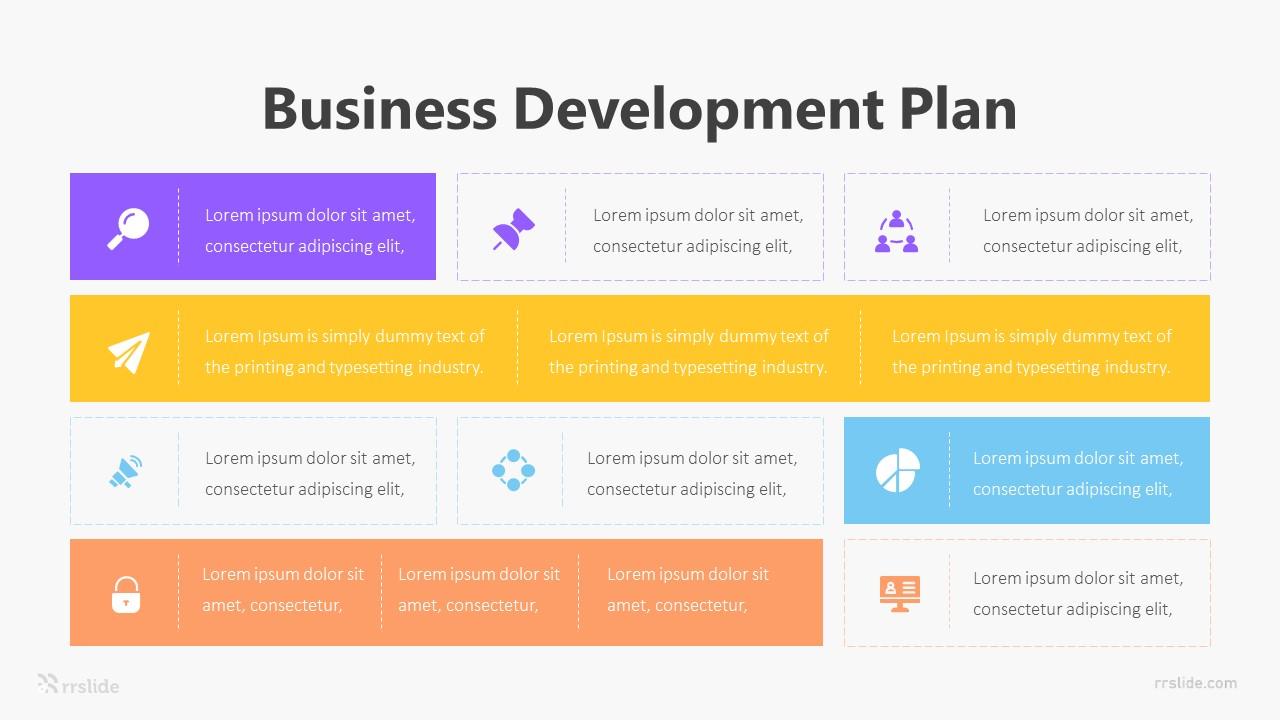 9 Business Development Plan Infographic Template